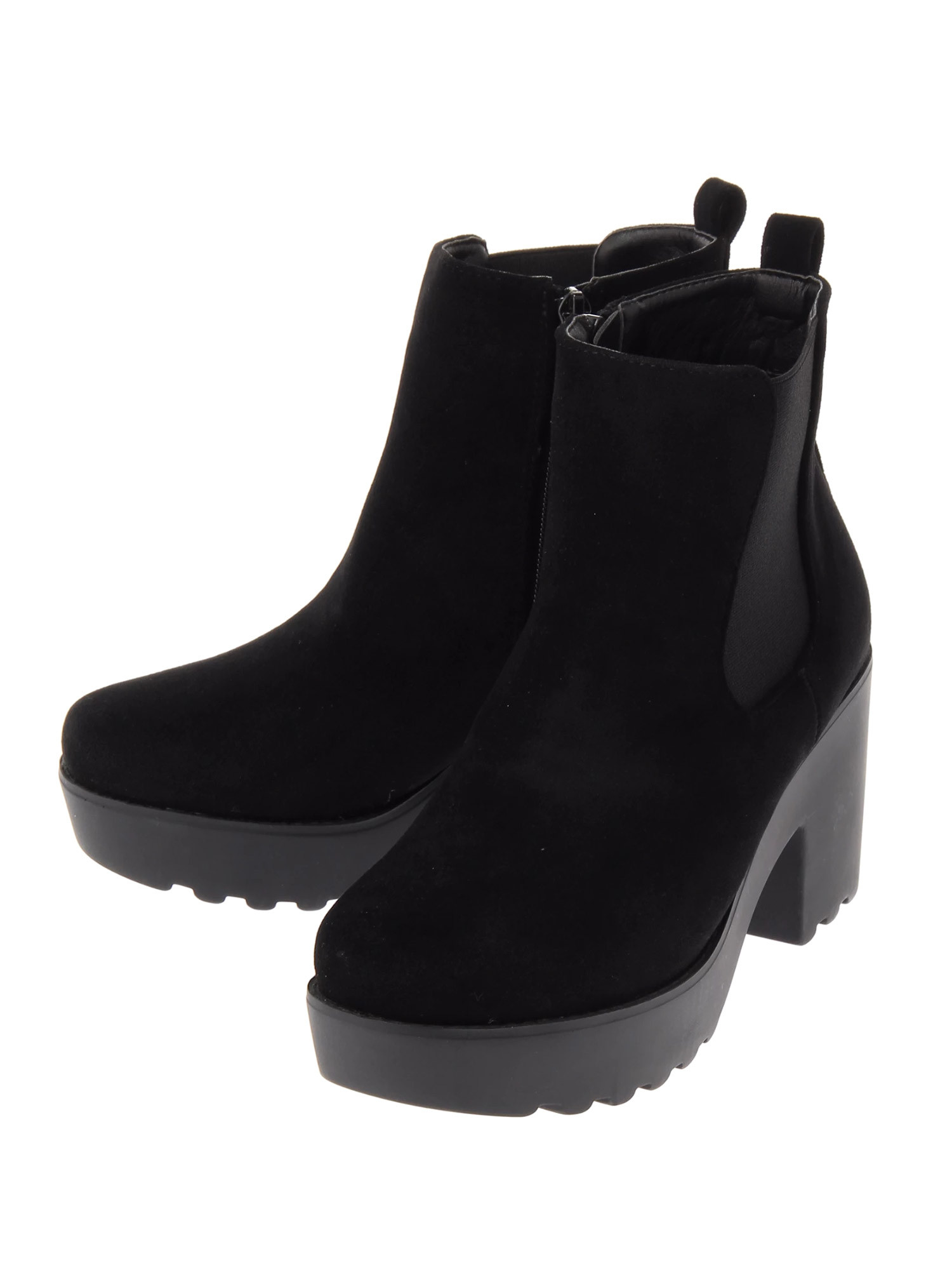 SUEDE SIDE GOA BOOTS