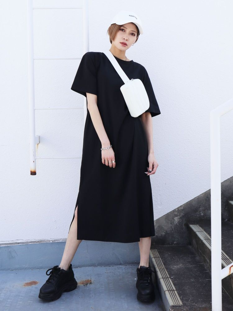 SIDE SLIT ROUGH ワンピース