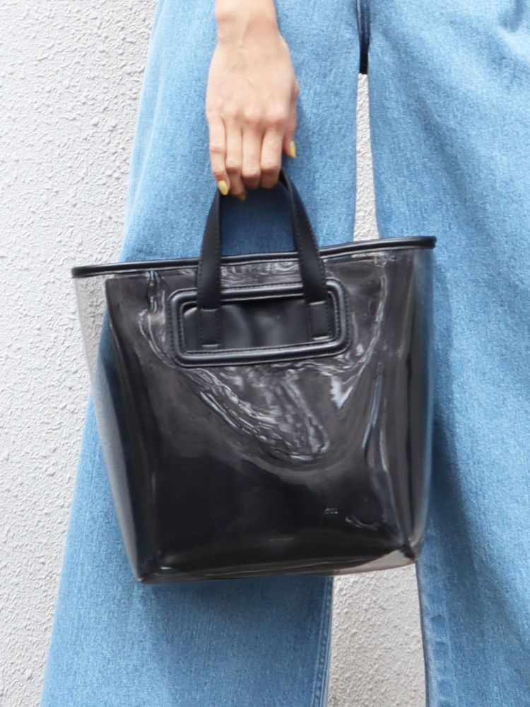 LAYERED CLEAR BAG