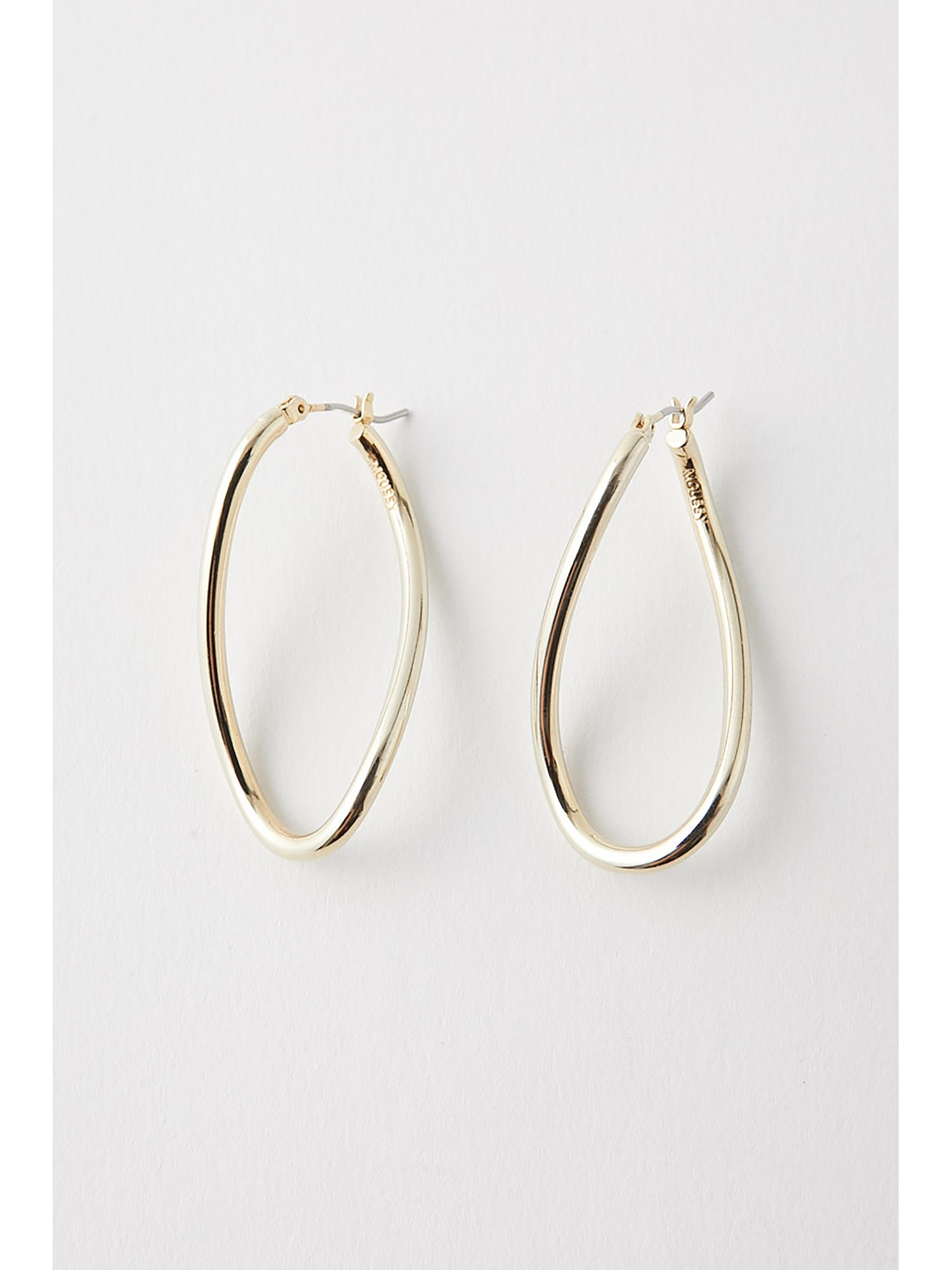 CURVE CIRCLE EARRINGS