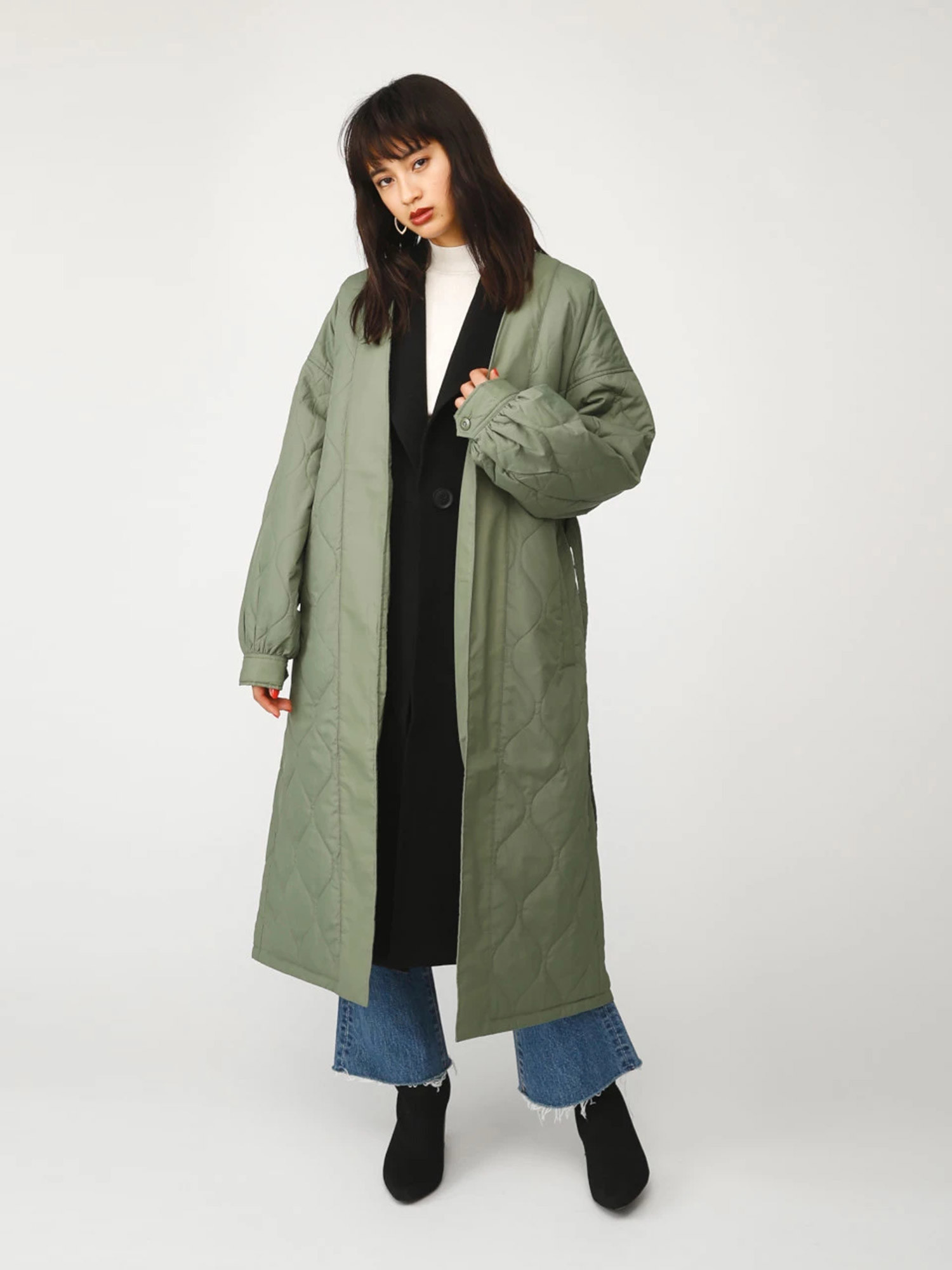 MARTA 2WAY MILLTARY COAT