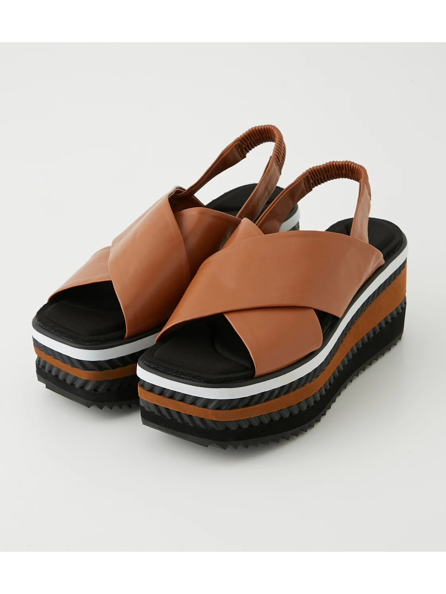 CROSS PLATFORM SANDAL
