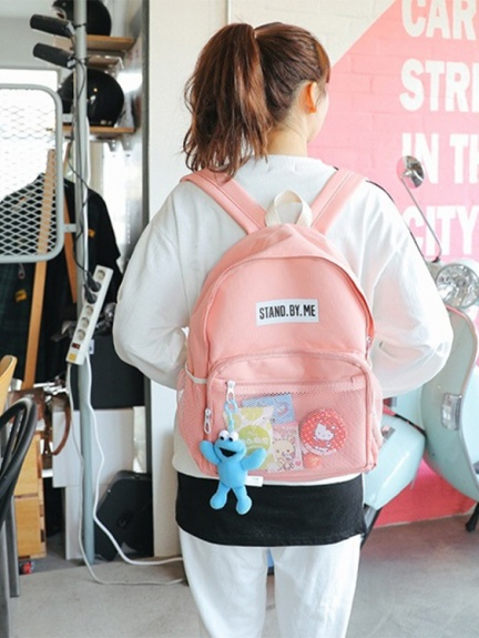 4a25df0d0950 son-17bag-003 / ピンク / STAND BY ME バックパック_SONYUNARA ...